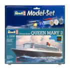 Maketa brod Queen Mary 2 - Set (ljepilo, boje, kist)