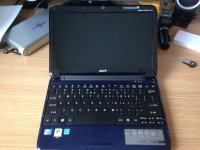 Acer Aspire One netbook, 11,6'', 2GB RAM