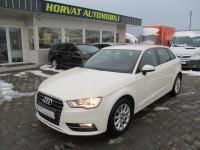 Audi A3 1,6 TDI S-tronic Attraction; HR auto; 93tkm; Reg.1g.