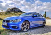BMW serija 4 Coupe 420d M Sport Xdrive, LED,siber, garancija, head-up