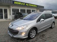 Peugeot 308 SW 1,6 HDi Exclusive; Panorama; Tempo; Park.senz.; Servisi