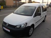 VW Caddy Maxi, 1,6 TDI, 5 sjed. N-1,MODEL 2012**KARTICE**RATE**