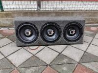 3x Ultimate Ux10 subwoofer