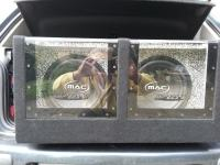 AUTO SUBWOOFER   MAC AUDIO 2X300 W