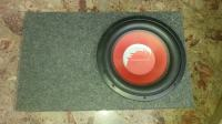Dragster Subwoofer 1200w (600w nom.)  i Renegade auto pojacalo 1800w