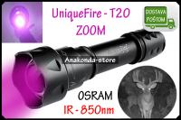 IR Lampa UniqueFire ILUMINATOR 850nm LED Night Vision Baterija ★RAČUN★
