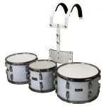 GEWA Parade drum set 10/12/14 White