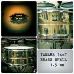 Novi Yamaha Brass Snare 14x7, Handcrafted in Japan