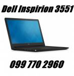 Dell Inspirion 3551,intel Quad core,8gb,125ssd-a,intel HD grap. 1500kn