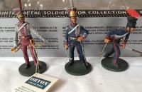 French Imperial Guard - Polish Lancers 1810. 1/32 54mm metalne figure
