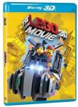 THE LEGO® MOVIE 3D+2D Blu-ray NOVO.