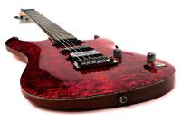 CORT AERO11 BC - Black Cherry Electric Guitar Quilted Maple Top