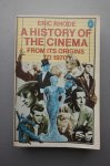 Eric Rhode - A History of the Cinema from its origins to 1970 - knjiga