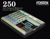 Fostex recorder / mixer model 250