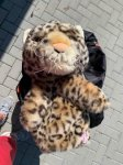 Driver head cover Leopard