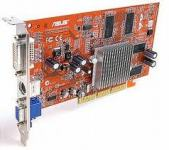 ASUS ATI Radeon 9200 SE 128MB AGP 8x 128bit DVI VGA TV-out