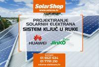Huwei i Jinko SOLARNE ELEKTRANE Solarni paneli i oprema