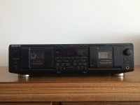 Dvostruki kazetofon Sony stereo cassette deck TC-WE635
