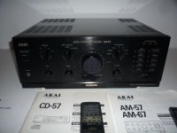 stereo AKAI -AM -67 -CD -57 -AT -57 - TOP  modeli- sve je kao NOVO