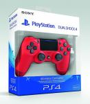 PS4 DUALSHOCK 4 WIRELESS CONTROLLER - RED  - NOVO