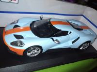 Diecast model Ford GT Gulf edition 1/18 Maisto