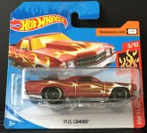 Hot Wheels '71 El Camino ( smeđi )