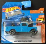 Hot Wheels Land Rover Series III Pickup ( plavi )