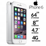Apple iPhone 6 64GB srebrni POTPUNO NOV GARANCIJA
