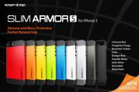 ☆ IPHONE 5 5S MASKA --- SPIGEN SLIM ARMOR --- ☆