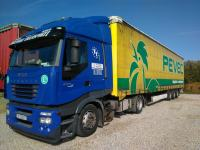 Iveco Stralis AS 440 S45T(EURO 5)+Krone SDP2 Megaliner 2007g. komplet