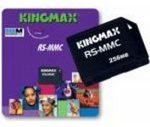 256MB Kingmax RS-MMC+MMC Novo!