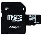 MICRO SD 64 GB + ADAPTER