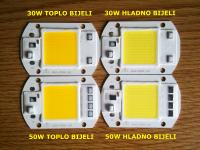 LED COB Chip sa integiranim LED Driverom 30 i 50W u jednom sklopu