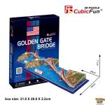 3D Puzzle Golden Gate Bridge
