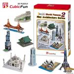 3D Puzzle Mini Architecture Series 2
