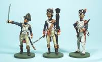 French Grenadiers 1812. 1:32 metalne figure 54mm