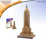 Maketa 3D Puzzle Empire State Building, small