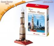 Maketa 3D Puzzle Sears tower