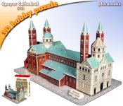 Maketa 3D Puzzle Speyer Cathedral