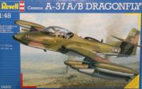 Maketa avion A-37 A/B Dragonfly  1/48