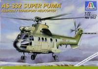 "maketa helikopter Aerospatiale AS.332 ""Super Puma"""