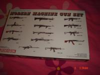 maketa modern machine gun set 1/35,Dragon,strojnice,moderne