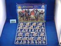 Maketa figurice Napoleonics British and Prussian Allied General Staff