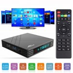 Smart TV Box Allwinner H6 3GB+32GB Android 7.0 WiFi Bluetooth HDMI USB