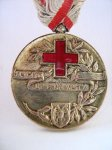 Red cross of Serbia medal by HF
