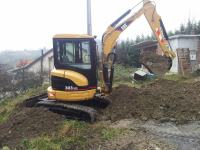 Mini bager Caterpillar 303 Cr 3,5 t