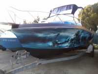 CHRIS CRAFT SEA HAWK 254 WA - custom made -