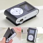 Clip MP3 Player LCD Screen