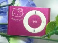 Hello Kitty MP3 player - iPod shuffle look