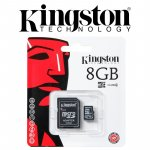 Micro SD kartica, original Kingston, sa adapterom na SD, dostava, NOVA